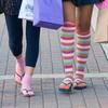 3-pack V-Toe Over-the-Knee Flip Flop Socks