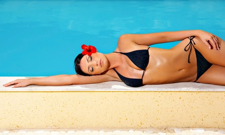 One Classic or Express Airbrush Tan with Exfoliation at Tantrum Tanning (Up to 62% Off)