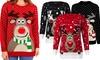 Women's Christmas-Knitted Jumper