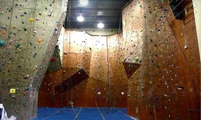 Summit Climbing Gym - Grapevine: Rock Climbing for One or Two with Gear, or Private Climbing Lesson at Summit Climbing Gym (Up to 55% Off)