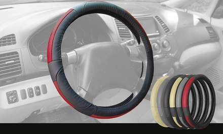 Genuine Leather Steering-Wheel Covers