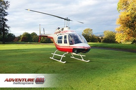 Adventure 001: Helicopter Tour with Bubbly for One, Two or Four at Adventure 001 (Up to 55% Off)