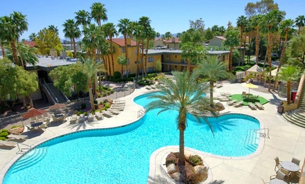 Stay at Alexis Park All Suite Resort in Las Vegas. Dates Available into September.
