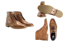 Bottines Goodwin, Redfoot, cuir