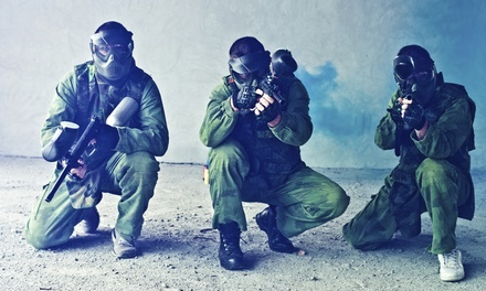 One Paintball Package for Two or Four People (Up to 67% Off)