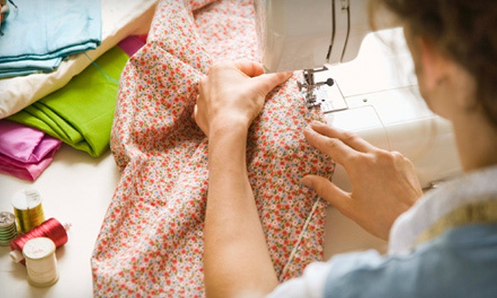Say It With Stitches - Sarasota: Beginner Sewing Class for One or Two with All Materials Included at Say It With Stitches (Up to 53% Off)