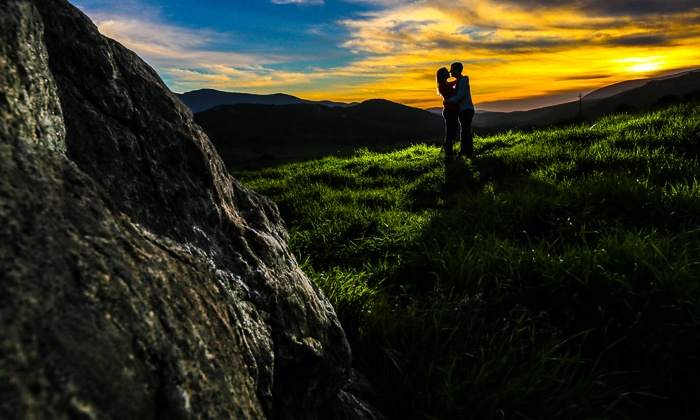 Aaron and Samantha Photography - Multiple Locations: 60-Minute Engagement Photo Shoot with Digital Images from Aaron and Samantha Photography (70% Off)