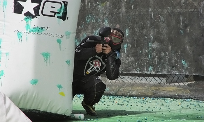 Hinkle Family Fun Center - Northeast Heights: Paintballing with Ammo and Equipment Rental for Two, Four, Six, or Eight at Hinkle Family Fun Center (50% Off)