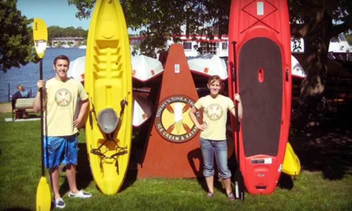 Tommy's Tonka Trolley - Tommy's Tonka Trolley: $10 Worth of Kayak or Paddleboard Rentals