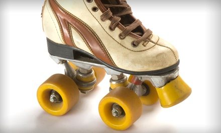 Roller Skating with Skate Rentals for Two, Four, or Six at Lombard Roller Rink (Up to 52% Off)