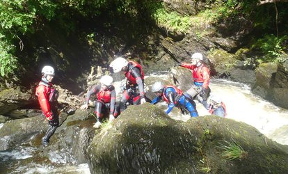 Three-Hour Canyoning Experience for One or Two with Action Adventure Activities (Up to 58% Off)