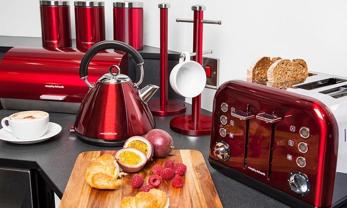 Morphy richards 8 pc kitchen set groupon goods for Kitchen set deals