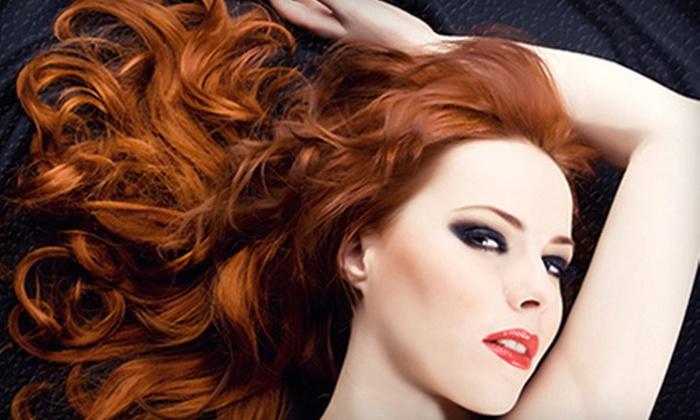 Chanti Extensions Salon - Ritchie: Three or Six Peekaboo Colourful Hair Extensions at Chanti Extensions Salon (53% Off)