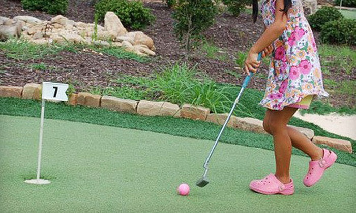 The Georgia Trail - Suwanee-Duluth: Round of Mini Golf for Two, Four, or Six at The Georgia Trail (Up to 57% Off)