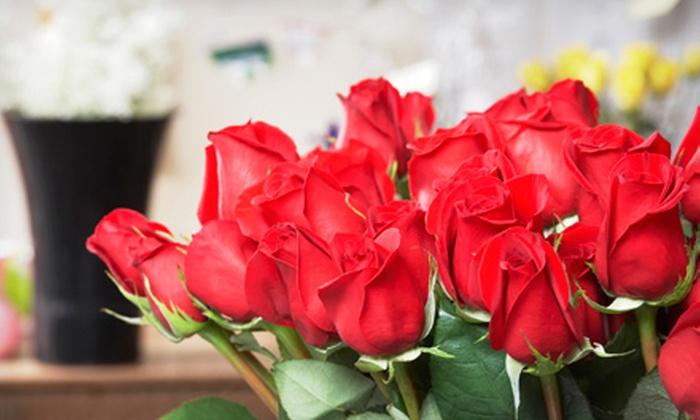 Robert Suresh Designs - Pembroke Park: $25 for $50 Toward Dozen Roses at Robert Suresh Designs