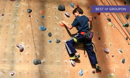 $45 for an Indoor Rock-Climbing Membership & Intro Climbing Lessons at Adventure Rock Indoor Climbing Gym ($125 Value)