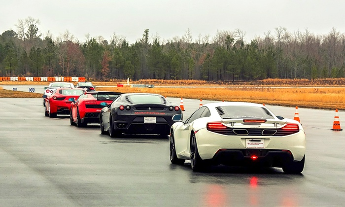 Adventure Supercars - Autobahn Country Club: Exotic-Car Driving Experience or Ride-Along from Adventure Supercars (Up to 51% Off). 28 Options Available.