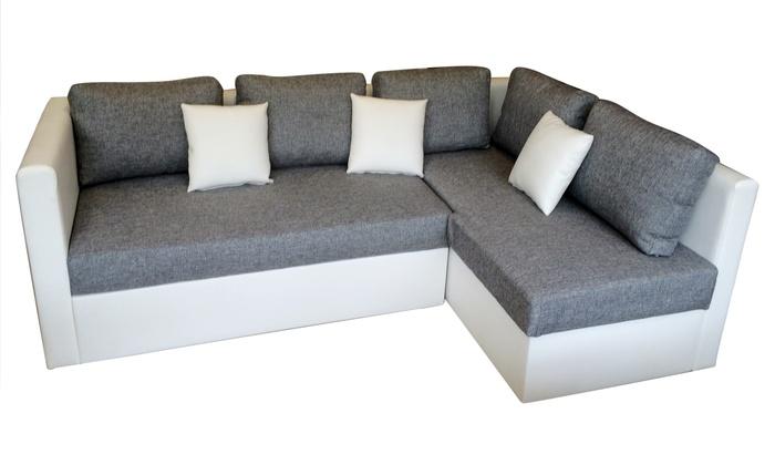 Corner Sofa Bed | Groupon Goods