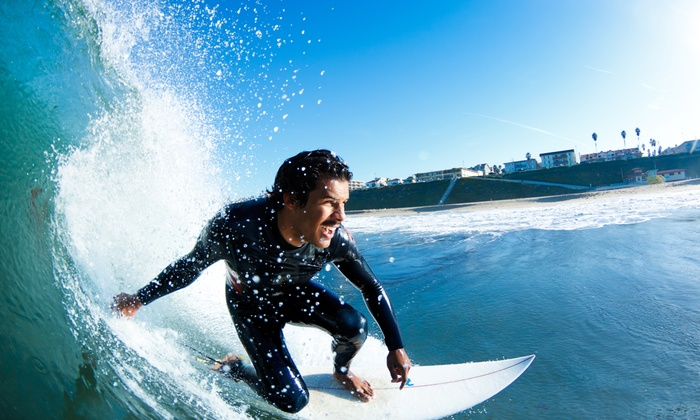 Adventure Out - Multiple Locations: $55 for an Introductory 3-Hour Surf Lesson at Adventure Out ($99 Value)