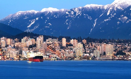 1-Night Stay with Breakfast, Sparkling Wine, and Chocolates for Two at Lonsdale Quay Hotel in North Vancouver, BC