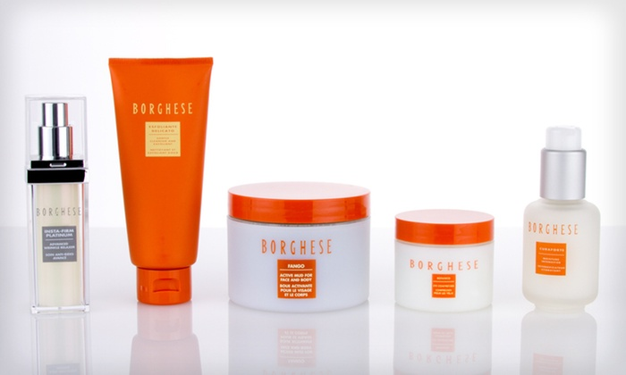 Borghese Signature Beauty Skincare Set: $49 for a Five-Piece Borghese Skincare Gift Set ($230 List Price). Free Shipping.