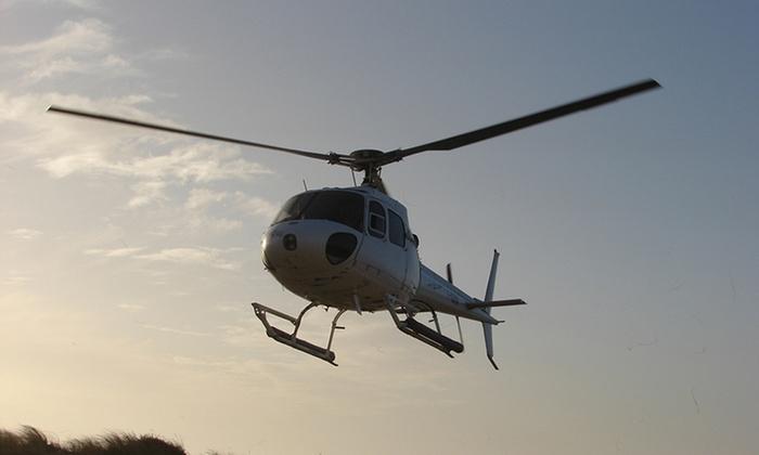 Vol en hélicoptère de 12 ou 20 min au-dessus d'Arcachon ou Biscarrossedès 67,90 € avec Jet Systems Helicopter Company