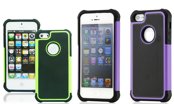 Armor Case for iPhone 4/4S or 5: $8.99 for an Armor Case for iPhone 4/4S or 5 ($29.99 List Price). Multiple Styles Available. Free Returns.