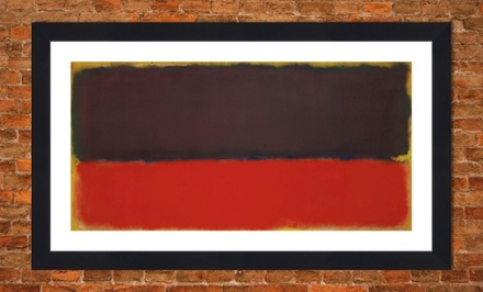 Framed Mark Rothko Print
