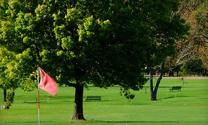 Olmsted Parks Golf Courses - Multiple Locations: 18-Hole Round of Golf for Two or Four with Carts and Drinks at Olmsted Park Golf Courses (Up to 56% Off)