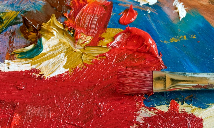 Create A Canvas - Pittsburgh: $22 for $40 Groupon — Create a Canvas
