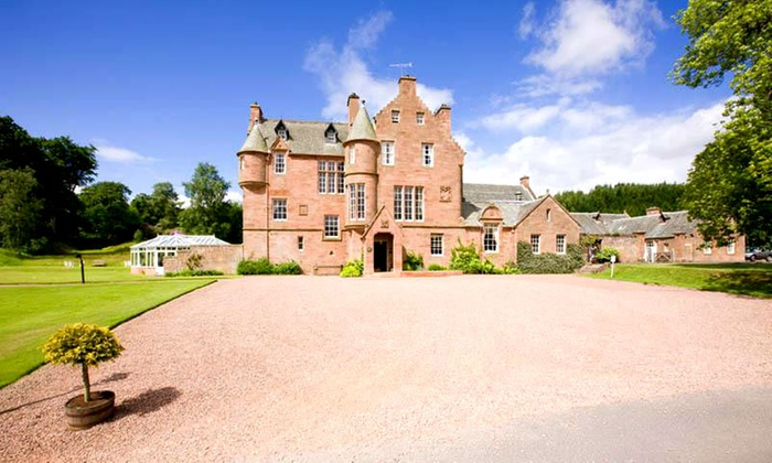 Cringletie House - Peebles: Scottish Borders: 1 or 2 Nights For 2 With Breakfast, Dinner and Champagne from £199 at Cringletie House (Up to 49% Off)