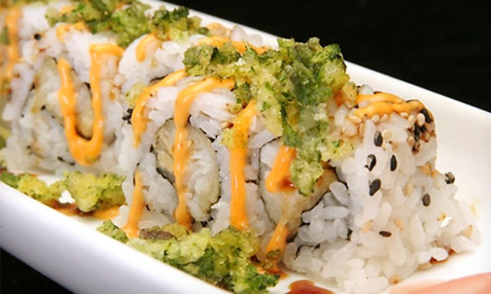 Yotsuba - Multiple Locations: Sushi and Japanese Fare for Dinner or Lunch at Yotsuba Japanese Restaurant & Bar (Half Off