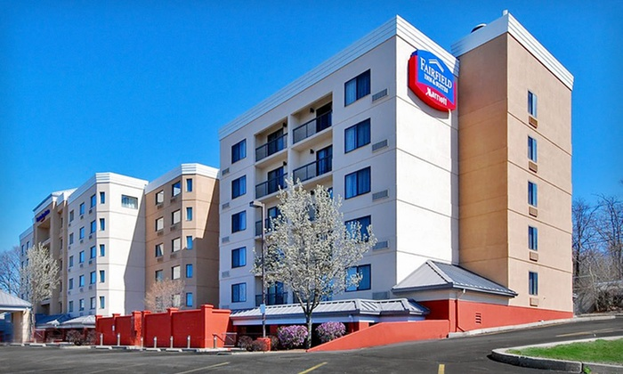 Fairfield Inn & Suites Boston North - Pleasant Hills: One-Night Stay with Parking and Airport Shuttle Service at Fairfield Inn & Suites Boston North in Revere, MA