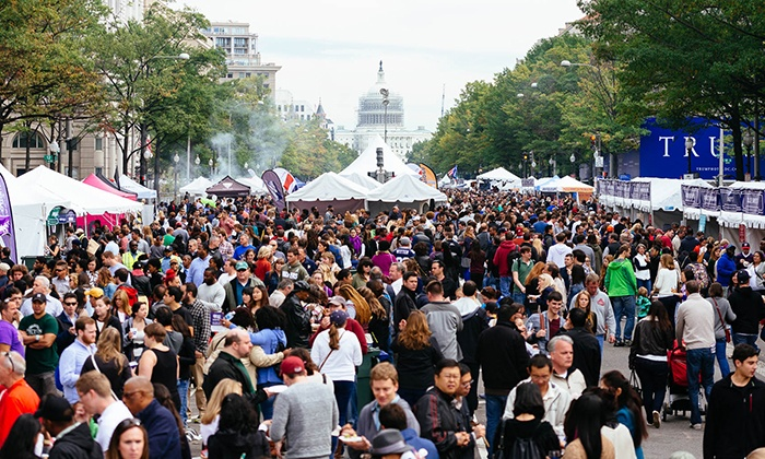 Taste of DC - Pennsylvania Ave NW: Taste of DC Packages (up to 27% Off). Four Options Available.