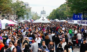 Taste of DC: Taste of DC Packages (up to 27% Off). Four Options Available.