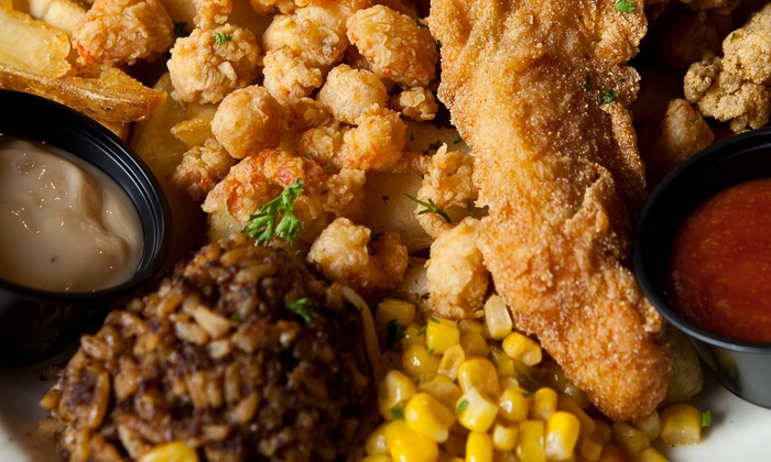 Boutin's - Multiple Locations: Cajun Food at Boutin's (50% Off)