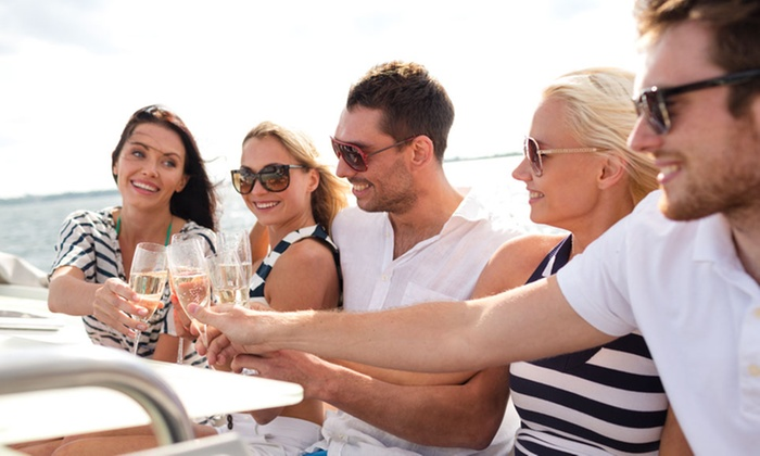 Prime Luxury Rentals - Haulover Marina: 2-, 3-, or 4-Hour Private Boat Charter with Wine & Cheese for Up to 8 from Prime Luxury Rentals (Up to 41% Off)