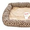 Boots & Barkley Small Polka Dot Pet Bed