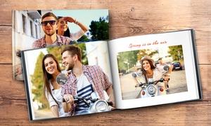 Printerpix: 1 livre photo A4 en cuir de 40, 60 ou 100 pages, couverture rigide, à personnaliser en ligne sur Printerprix dès 10 €