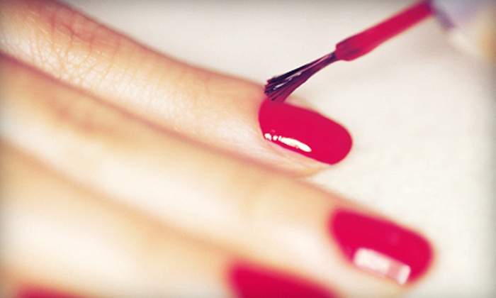 Gina at Avenue Hair and Nail Salon - Saint Clair Shores: Mani-Pedis and Shellac Manicures from Gina at Avenue Hair and Nail Salon (Up to 58% Off). Four Options Available.