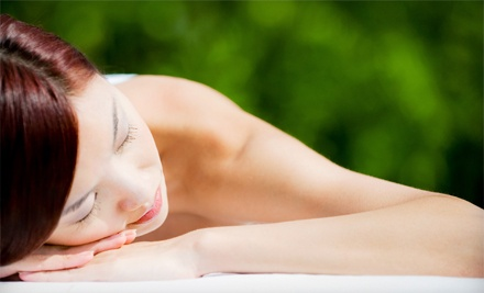 Massage and a Collagen Mask with an Eye Treatment or Microdermabrasion Treatment at Yin's Beauty Spa (Up to 73% Off)