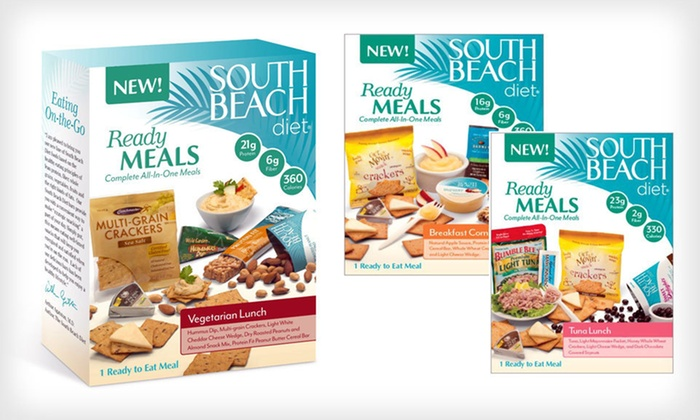 South Beach Diet ReadyMeals: Four or Eight South Beach Diet ReadyMeals (Up to 48% Off). Three Meals Available. Free Shipping.