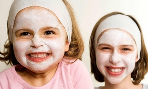 Dazzling Diva Day Spa: Girls' Spa Package for One, Four, or Eight at Dazzling Diva Day Spa (Up to 57% Off)