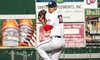 Hagerstown Suns Baseball Club - Municipal Stadium: Hagerstown Suns Baseball Game for Two or Four at Municipal Stadium on Monday, September 1 (52% Off)
