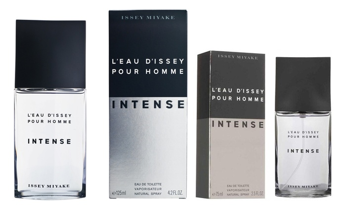 Groupon Goods Global GmbH: One or Two Issey Miyake L'Eau d'Issey Intense for Men EDT 75ml or 125ml