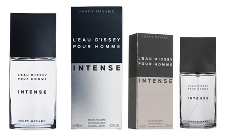 One or Two Issey Miyake L'Eau d'Issey Intense for Men EDT 75ml or 125ml