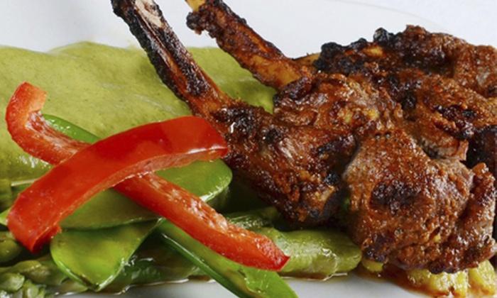Zaika (Formerly Tandoori Nights) - Zaika: $20 for $40 Worth of Indian Cuisine and Drinks at Zaika