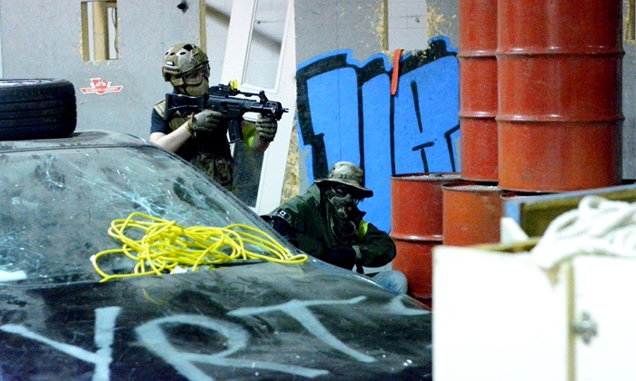 Ultimate Airsoft - York University Heights: Admission and Rental Packages for One, Two, or Four at Ultimate Airsoft (Up to 62% Off). Six Options Available.