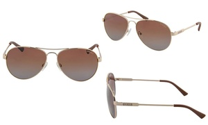 Guess Women's Polarized Aviator Sunglasses at Guess Women's Polarized Aviator Sunglasses, plus 6.0% Cash Back from Ebates.
