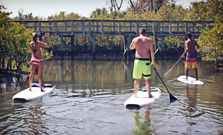 Two-Hour Standup-Paddleboard Eco Tour for Two or Rental for One from South Florida Paddle LLC (Up to 53% Off)
